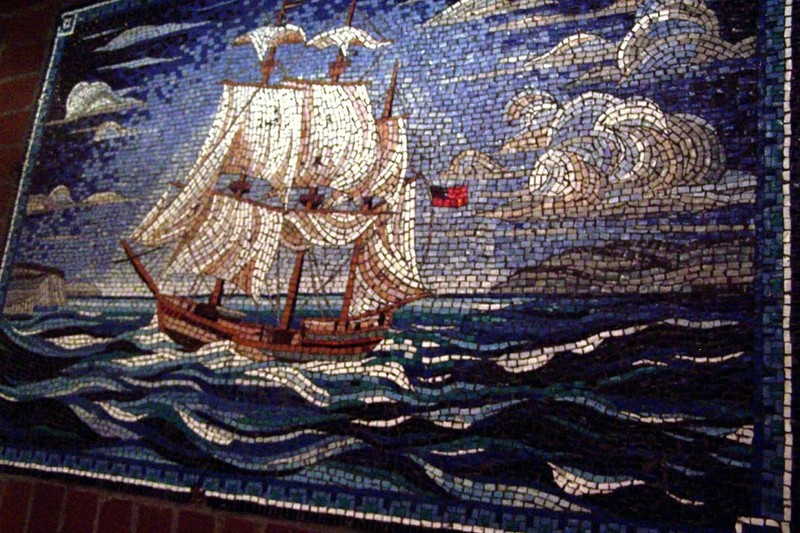 Mosaic in Hamilton