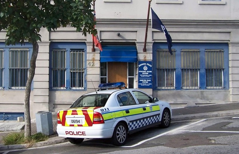 Police station in Hamilton