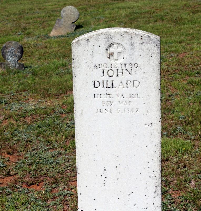 John Dillard's gravesite