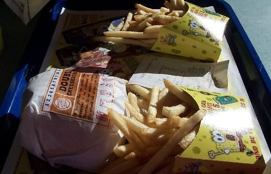 Our Burger King Lunch