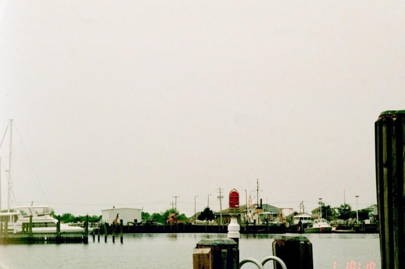 Coast Guard station across from the marina