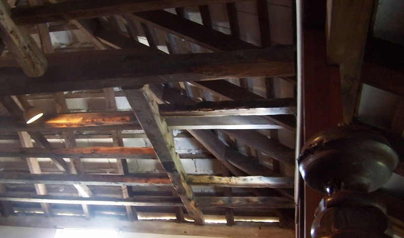 Attic rafters in Verdmont