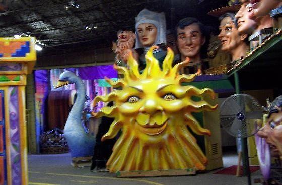 Parade Floats for Mardi Gras