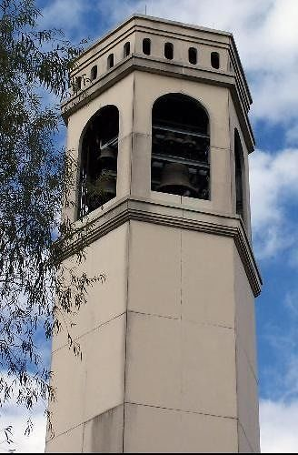 Top of the carillon tower