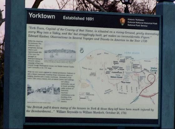 Yorktown sign - Yorktown