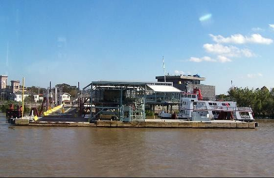 Ferry Dock from ferry