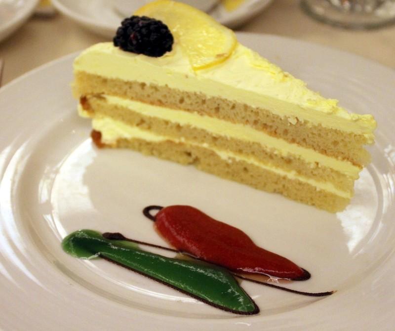 diet lemon cake