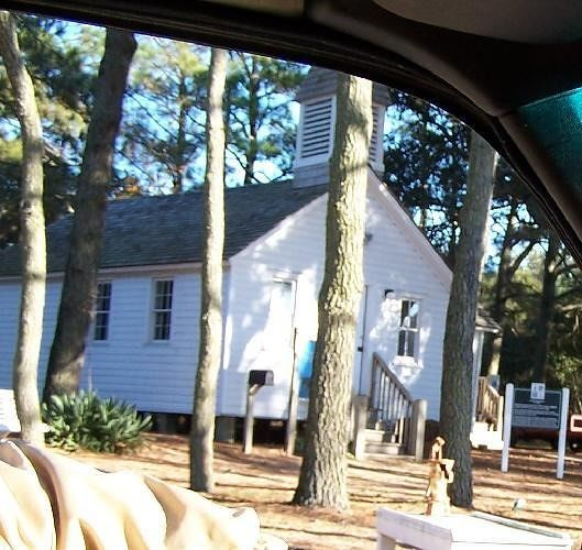 Corolla Schoolhouse from car
