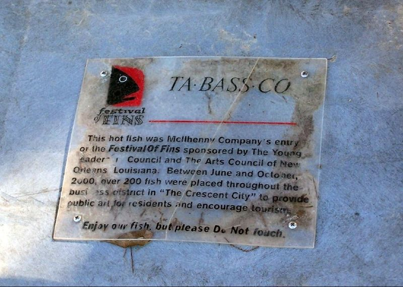 Ta BASS Co information sign