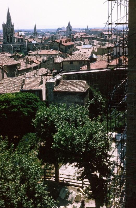 Roof tops of Avignon