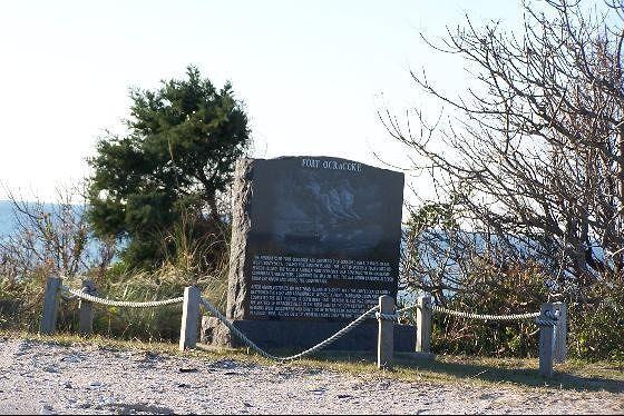 Fort Ocracoke Marker