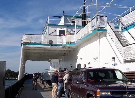 Local ferry passengers