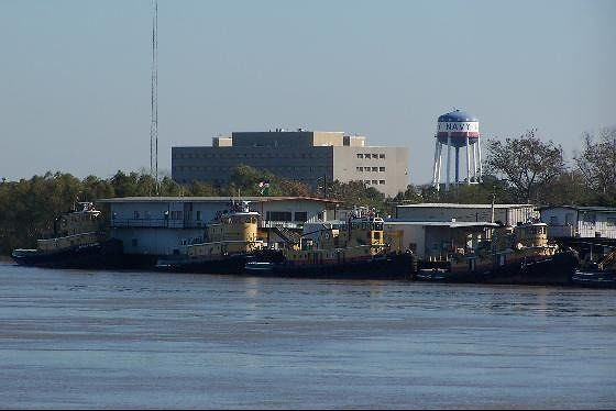 Tugs and Navy water tower