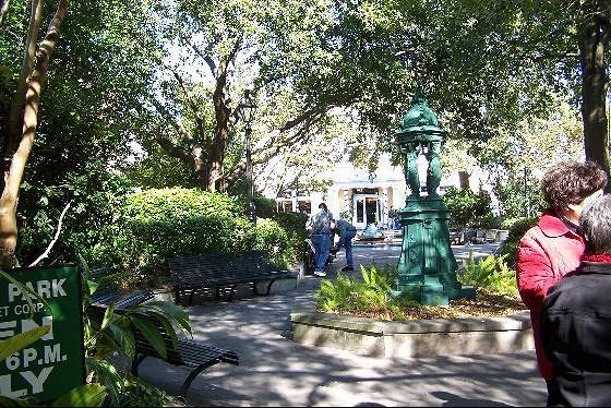 Benches in Latrobe Park