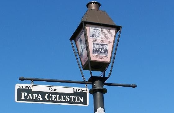 Informational Lamp Post