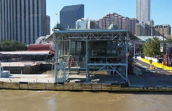 New Orleans ferry dock