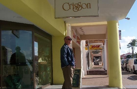 Bob outside of Crisson's