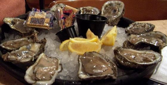 12 raw Oysters $8.95