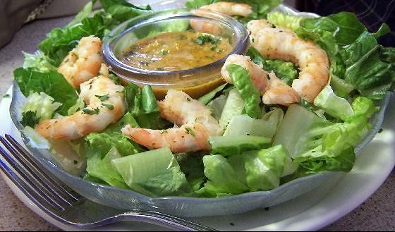 Shrimp remolade salad