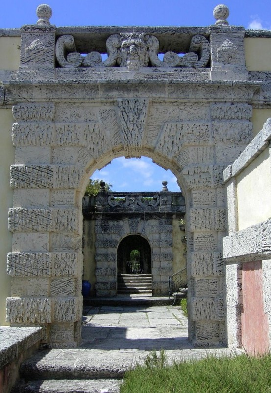 Arches to the secret garden