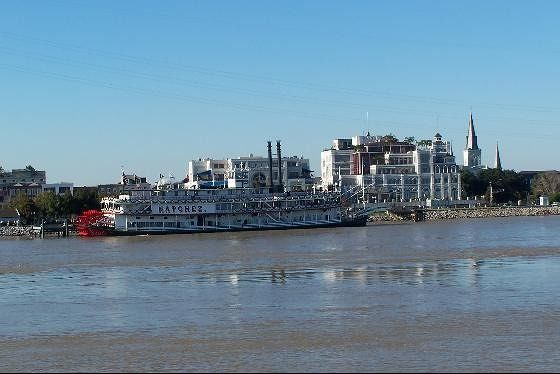 Natchez at the dock