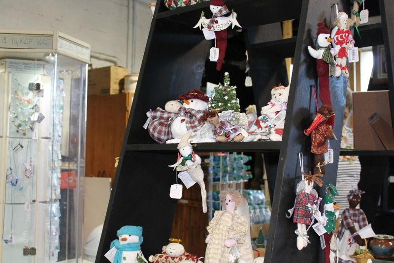 Christmas ornaments and dolls - Sandys Parish
