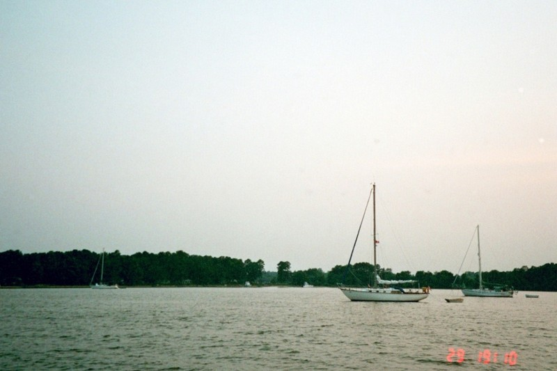 Other boats anchored