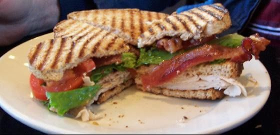 Decatur club sandwich ($6.99)