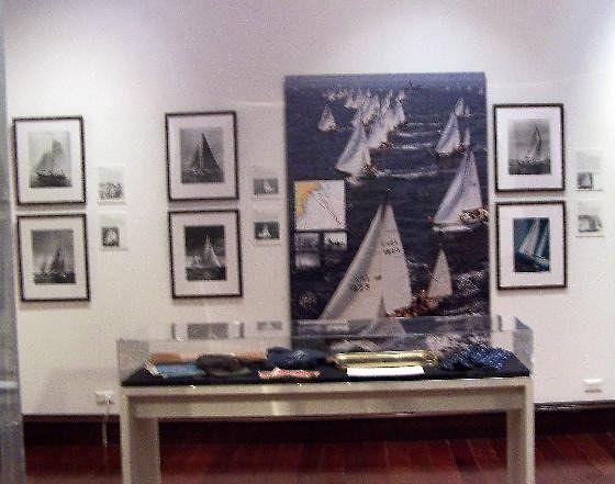Exhibit on the Yacht Racing