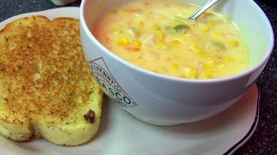 Corn shrimp chowder