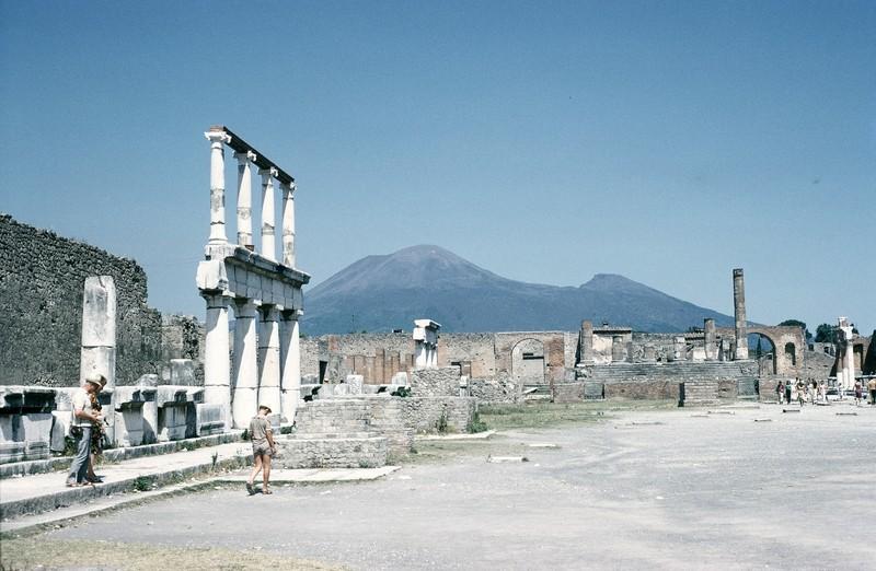 Vesuvius from Forum
