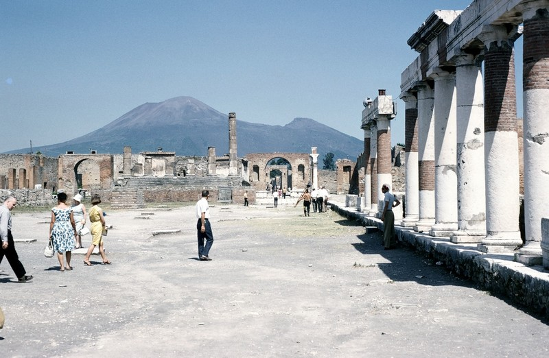 Vesuvius and Forum