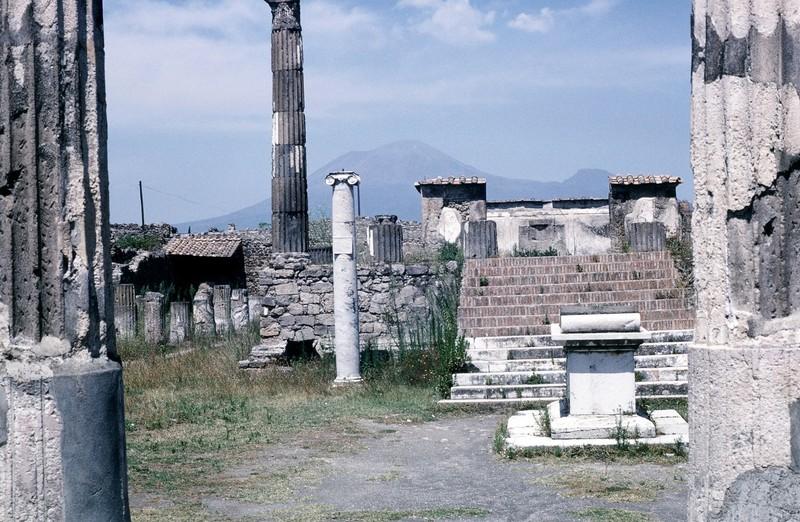 Jupiter's temple altar