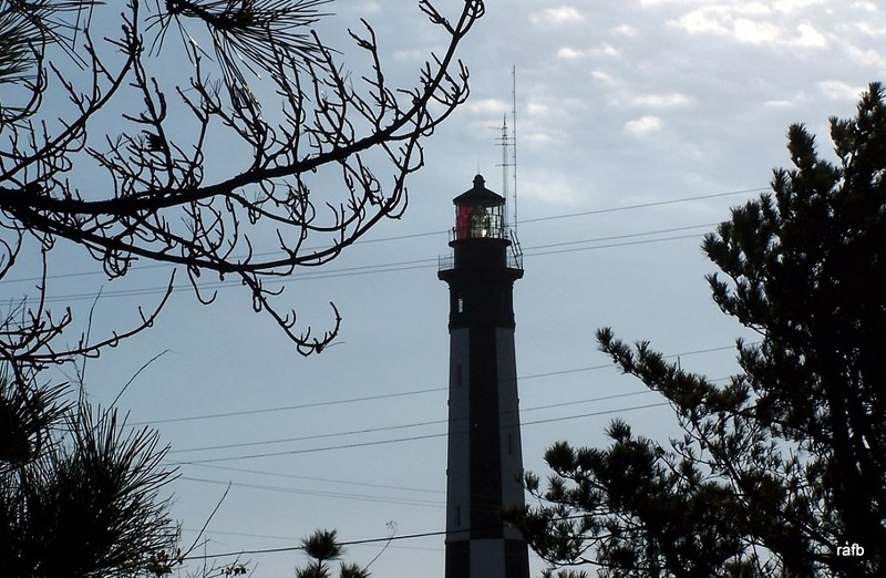 Light in the new lighthouse