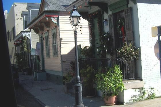 Shotgun Houses in New Orleans