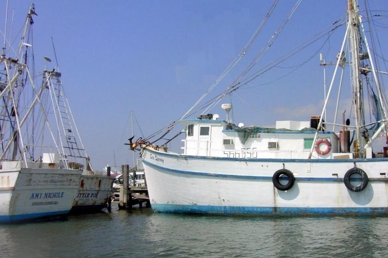 Shrimp Boat in Swan Point or New River Marina