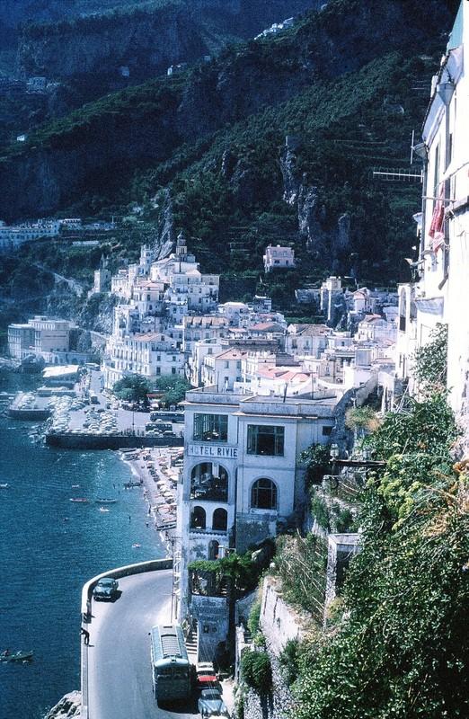 Amalfi from restaurant