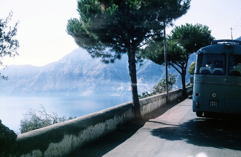 Bus, road and sea