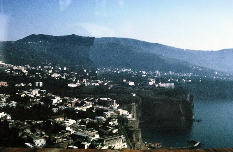 Sorrento from bus