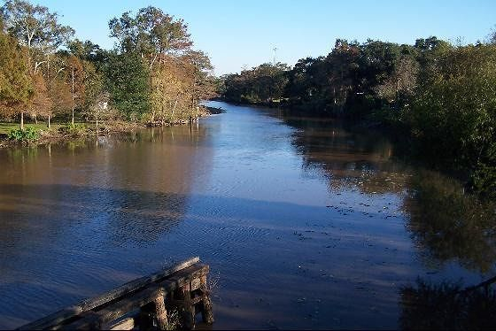 Bayou Teche from Bridge Street on the bridge