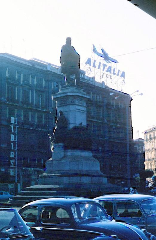 Monument to Giuseppe Garibaldi in Naples