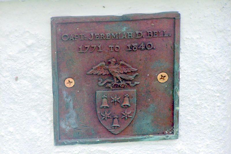 Captain Bell's grave