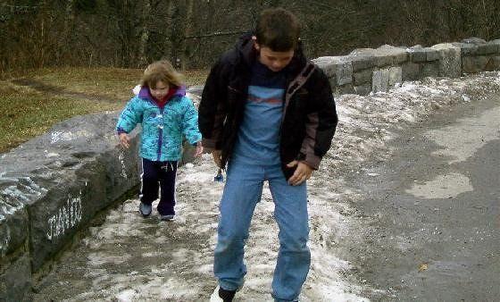 Florida kids experience snow