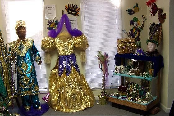 Mardi Gras Exhibit