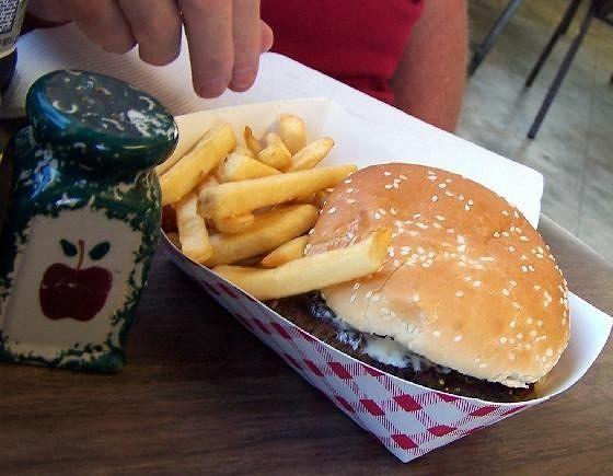 Bob's burger $2.75