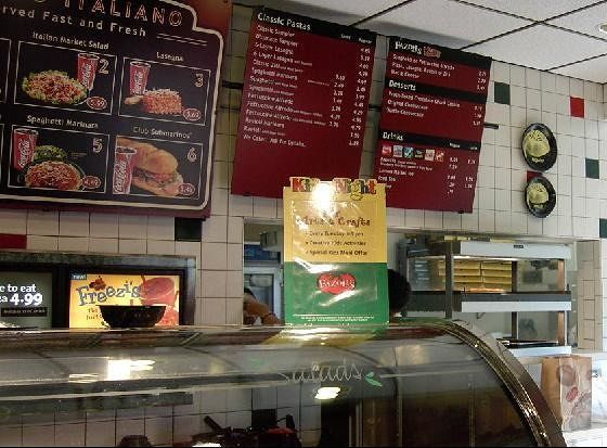 Counter and additional menu