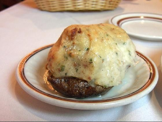 Twice baked potato for $18.95