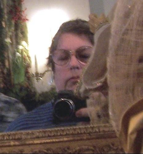 Me in the mirror