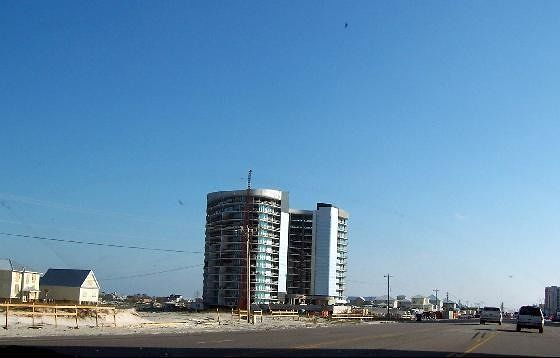 Orange Beach Construction Zone