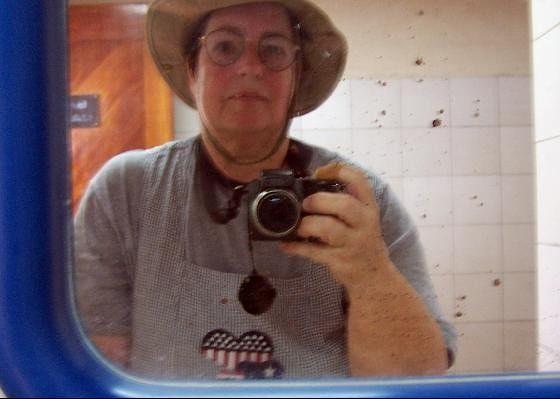 Me in the ladies room